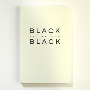 New Black Notepad
