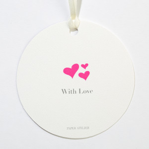 With Love Gift Tag (Set of 5)
