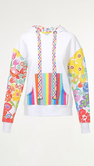 Rainbow Print Hoodie