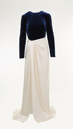 Two Tone Slim Gown