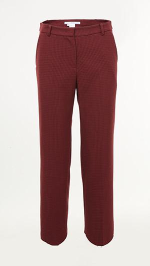 Unique Cut Hem Pants