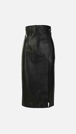 Davao Leather Skirt