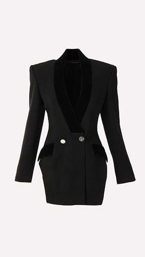 Velvet Lapel Jacket