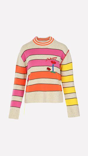 Mushroom Sailor Sweater