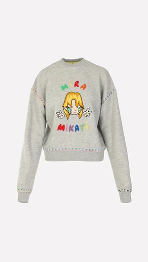 Javier x Mira Embroidered Sweatshirt