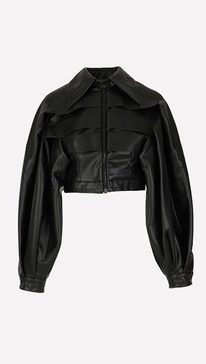 Grand Gestures Vegan Leather Jacket