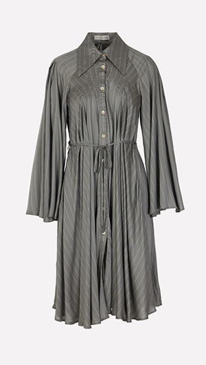 Generous Affection Pleated Dress