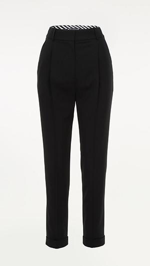Cropped Tuxedo Pants