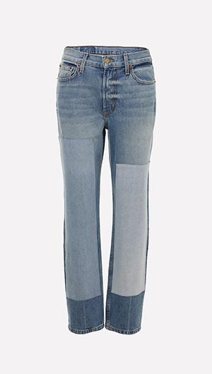 Arts Patchwork Jeans