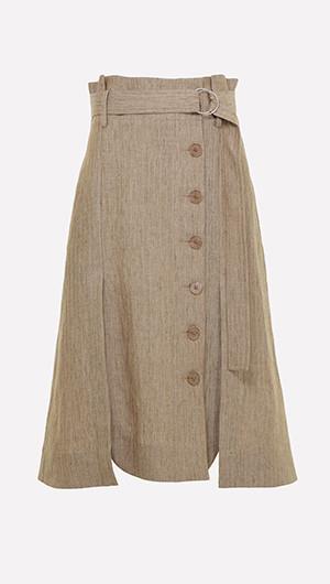 Kirina Button Front Skirt