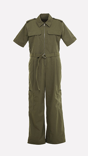 Utility Army Jumpsuit
