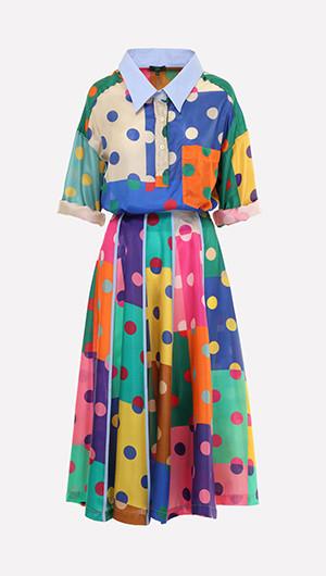 Christy Floral Midi Dress