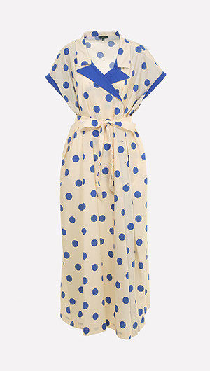 Fonda Polka Dot Dress
