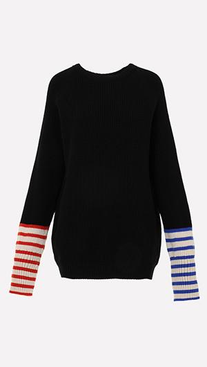 Jean Michel Contrast Sweater