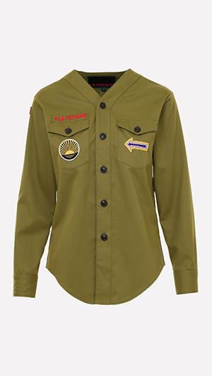 Mitsouko Military Shirt