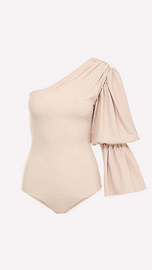 Pinta One Sleeve Swimsuit