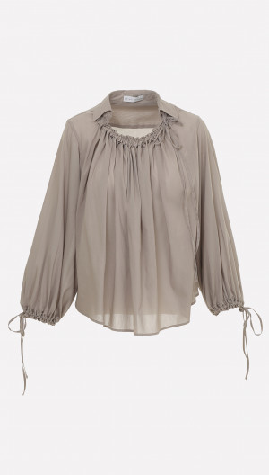 First Moment Ruched Shirt