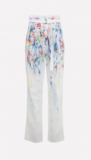 Paint Spatter Pants