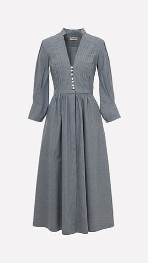 Flora Pleated Dress