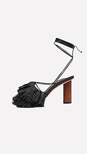 Gortensia Asymmetric Sandals