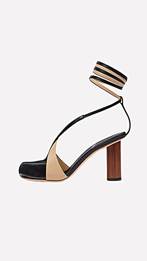 Geraldine Open Toe Shoes