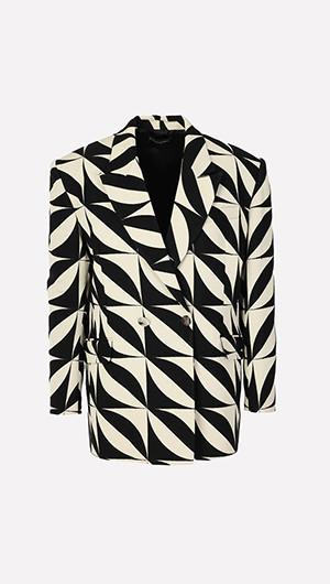 Jacquard Oversize Jacket