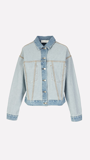 Inside Out Denim Jacket
