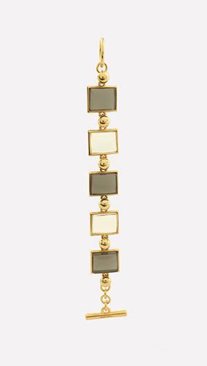 Square Enamel Bracelet